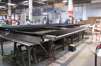 led sign production