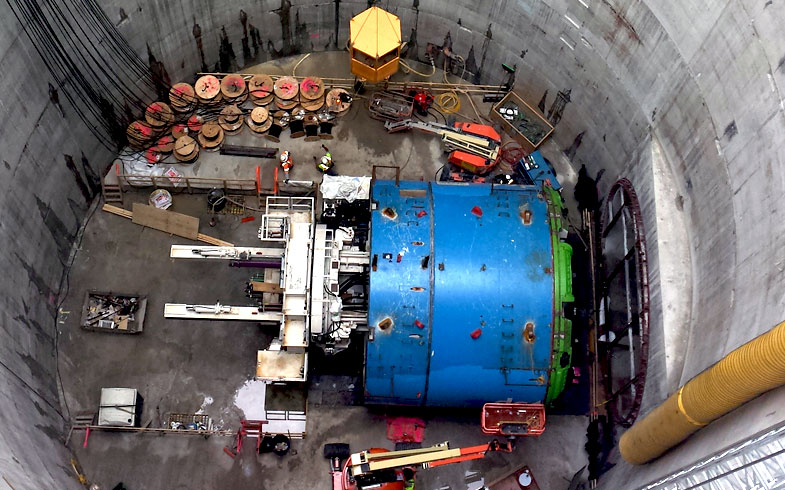 Leyden Electric/Local 26 First Street Tunnel project
