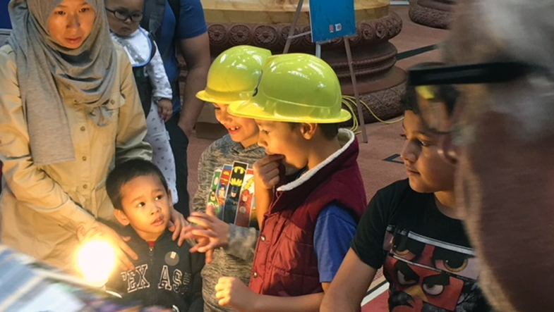 Kids inspired by electrical trade.